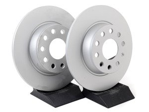 ES#2817061 - 1k0615601aakt1 - Rear Brake Rotors - Pair (272x10) - Featuring a protective Meyle Platinum coating. - Meyle - Audi Volkswagen