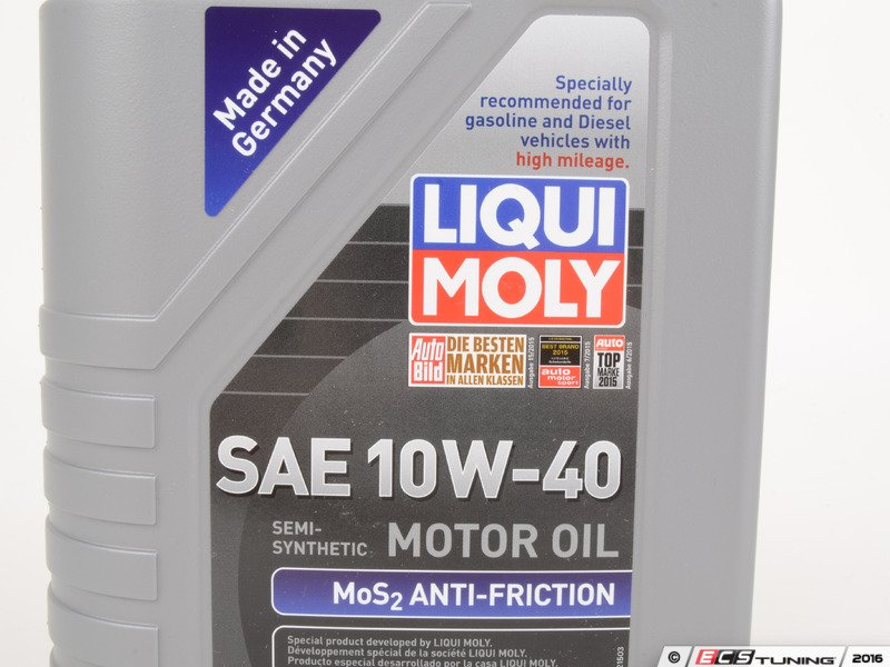 liqui moly 2042 10w40 mos2 anti friction motor oil 1. Black Bedroom Furniture Sets. Home Design Ideas