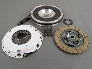 ES#2575686 - 17020HDKVALKT1 -  Stage 2 Clutch Kit - Aluminum Flywheel (13lbs) - Perfect for daily driving a k04 - Clutch Masters - Audi Volkswagen