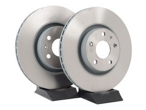 ES#3134108 - jzw615301hKT - Economy Front Brake Rotors - Pair (312x25)  - Restore the stopping power in your vehicle - Genuine Volkswagen Audi - Audi Volkswagen
