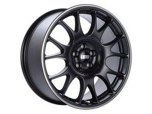 "ES#3137561 - ch009bpoKT - 19"" CH - Set Of Four  - 19""x8.5"" ET35 5x112 - Satin Black with Polished Rim Protector - BBS - Audi Volkswagen"
