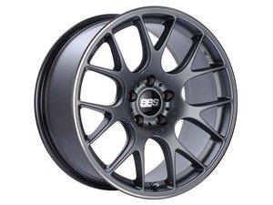 "ES#3138817 - CH103TIPOKT - 20"" CH-R - Set Of Four  - 20""x10.5"" ET25 5x112 - Satin Titanium with Polished Rim Protector - BBS - Audi"