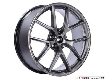 "ES#3137981 - CI0103PSPOKT - 20"" CI-R - Set Of Four  - 20""x8.5"" ET42 5x112 - Platinum Silver with Polished Rim Protector - BBS - Audi Volkswagen"