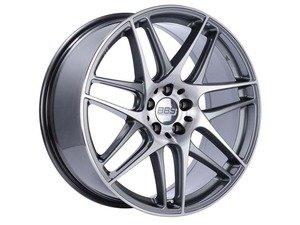 "ES#3138101 - CX002APKKT - 19"" CX-R - Set Of Four  - 19""x8.5"" ET35 5x112 - Gloss Anthracite with Diamond Cut Face - BBS - Audi Volkswagen"