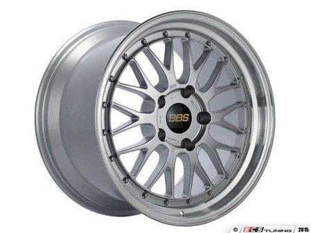"ES#3138103 - LM127DSPKKT - 18"" LM - Set Of Four  - 18""x8.5"" ET30 5x112 - Diamond Silver Center with Diamond Cut Lip - BBS - Audi Volkswagen"