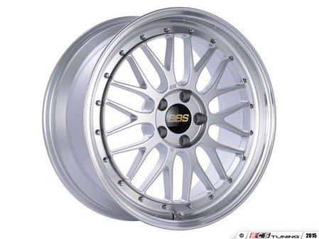 "ES#3138112 - LM154DSPKKT - 19"" LM - Set Of Four  - 19""x8.5"" ET32 5x112 - Diamond Silver Center with Diamond Cut Lip - BBS - Audi Volkswagen"