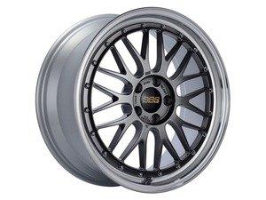 "ES#3138113 - LM155DBPKKT - 19"" LM - Set Of Four  - 19""x9.5"" ET32 5x112 - Diamond Black Center with Diamond Cut Lip - BBS - Audi Volkswagen"