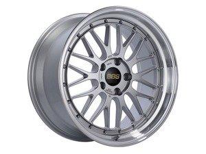 "ES#3138115 - LM155DSPKKT - 19"" LM - Set Of Four  - 19""x9.5"" ET32 5x112 - Diamond Silver Center with Diamond Cut Lip - BBS - Audi Volkswagen"