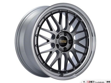 "ES#3138173 - LM249DBPKKT - 19"" LM - Set Of Four  - 19""x8.5"" ET48 5x112 - Diamond Black Center with Diamond Cut Lip - BBS - Audi Volkswagen"