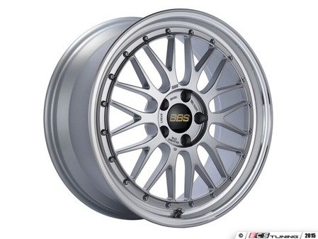 "ES#3138227 - LM249DSPKKT1 - 19"" LM - Set Of Four  - 19""x8.5"" ET48 5x112 - Diamond Silver Center with Diamond Cut Lip - BBS - Audi"