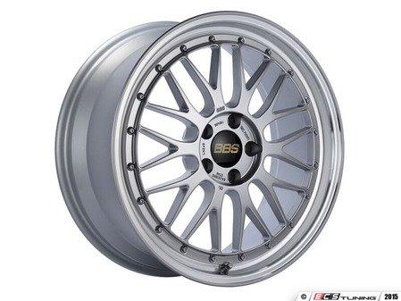 "ES#3138174 - LM249DSPKKT - 19"" LM - Set Of Four  - 19""x8.5"" ET48 5x112 - Diamond Silver Center with Diamond Cut Lip - BBS - Audi Volkswagen"