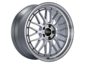 "ES#3138178 - LM250DSPKKT - 19"" LM - Set Of Four  - 19""x9"" ET42 5x112 - Diamond Silver Center with Diamond Cut Lip - BBS - Audi Volkswagen"