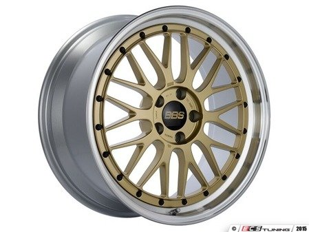 "ES#3619876 - lm287415gpkKT - 19"" LM - Set Of Four - 19""x8.5"" / 19""x12.0"" ET50 5x130 - Gold/Diamond Cut - BBS - Porsche"