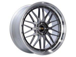 "ES#3138200 - LM269DBPKKT - 19"" LM - Set Of Four  - 19""x8.5"" ET32 5x112 - Diamond Black Center with Diamond Cut Lip - BBS - Audi Volkswagen"