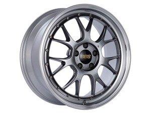 "ES#3138210 - LM322DBPKKT - 19"" LM-R - Set Of Four  - 19""x8.5"" ET38 5x112 - Diamond Black Center with Diamond Cut Lip - BBS - Audi Volkswagen"