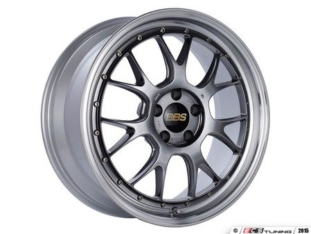 "ES#3138218 - LM322DBPKKT1 - 19"" LM-R - Set Of Four  - 19""x8.5"" ET38 5x112 - Diamond Black Center with Diamond Cut Lip - BBS - Audi"