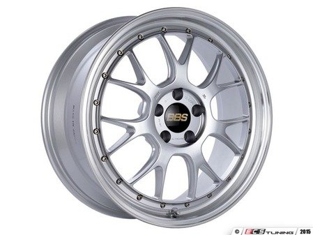 "ES#3138236 - LM323DSPKKT1 - 19"" LM-R - Set Of Four  - 19""x9.5"" ET38 5x112 - Diamond Silver Center with Diamond Cut Lip - BBS - Audi"