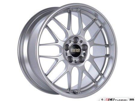 "ES#3138668 - RG705HDSKKT1 - 18"" RG-R - Set Of Four  - 18""x8"" ET35 5x112 - Diamond Silver - BBS - Audi MINI"