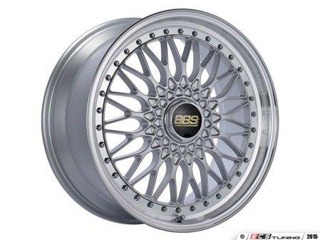"ES#3138635 - RS540HSPKKT - 19"" Super RS - Set Of Four  - 19""x9"" ET42 5x112 - Silver Center with Diamond Cut Lip - BBS - Audi Volkswagen"