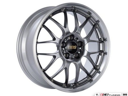 "ES#3138654 - RS923HDBPKKT1 - 19"" RS-GT - Set Of Four  - 19""x8.5"" ET38 5x112 - Diamond Black Center with Diamond Cut Lip - BBS - Audi"