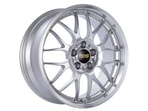 "ES#3619869 - rs925926hdspkKT - 18"" RS-GT - Set Of Four - 18""x8.0"" ET50 / 18""x9.5"" ET48 5x130 - Diamond Silver/Diamond Cut - BBS - Porsche"
