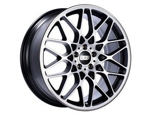 "ES#3138698 - RX300BPKKT - 19"" RX-R - Set Of Four  - 19""x8.5"" ET45 5x112 - Satin Black/Diamond Cut Face with Polished Rim Protector - BBS - Audi Volkswagen"