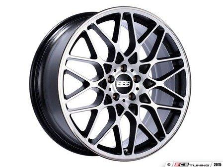 "ES#3138701 - RX304BPKKT - 19"" RX-R - Set Of Four  - 19""x9.5"" ET40 5x112 - Satin Black/Diamond Cut Face with Polished Rim Protector - BBS - Audi Volkswagen"