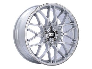 "ES#3138702 - RX304SKKT - 19"" RX-R - Set Of Four  - 19""x9.5"" ET40 5x112 - Sport Silver with Polished Rim Protector - BBS - Audi Volkswagen"
