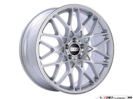 "ES#3138706 - RX307SKKT - 20"" RX-R - Set Of Four  - 20""x8.5"" ET45 5x112 - Sport Silver with Polished Rim Protector - BBS - Audi Volkswagen"