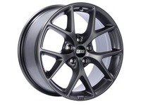 "ES#3138735 - SR014SGKT - 18"" SR - Set Of Four  - 18""x8"" ET35 5x112 - Satin Grey - BBS - Audi Volkswagen"