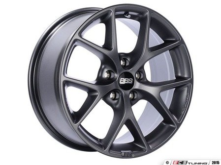 "ES#3138803 - SR027SGKT1 - 19"" SR - Set Of Four  - 19""x8.5"" ET32 5x112 - Satin Grey - BBS - Audi"