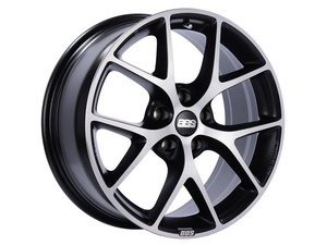 "ES#3138725 - SR002VGPKKT - 17"" SR - Set Of Four  - 17""x8"" ET42 5x112 - Satin Black with Diamond Cut Face - BBS - Audi Volkswagen"