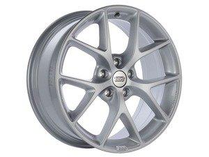 """ES#3138729 - SR004SKKT - 17"""" SR - Set Of Four  - 17""""x7.5"""" ET35 5x112 - Sport Silver - BBS - Audi Volkswagen"""