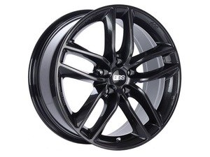 "ES#3138869 - SX0301CBKT - 17"" SX - Set Of Four  - 17""x7.5"" ET45 5x112 - Crystal Black - BBS - Audi Volkswagen"