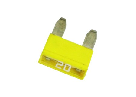 ES#2887 - 20AMPMINI - Mini 20 Amp Fuse-Priced Each - Yellow - Pudenz - Audi BMW Volkswagen MINI Porsche