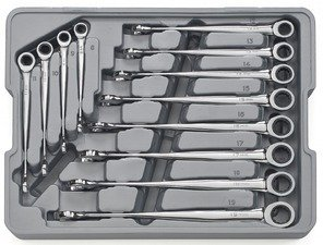 ES#2935546 - KDT85888 - GearWrench Metric X-Beam XL Combination Ratcheting Wrench Set - 12 Piece - Easy on the hands, tough on fasteners - Gear Wrench - Audi BMW Volkswagen Mercedes Benz MINI Porsche