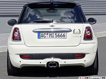 ES#3131430 - 511256110 - Rear Bumper Skirt  - Aggressive style rear skirt replacements, primed and ready to paint - AC Schnitzer - MINI