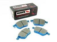 ES#1164 - HB272E.763 - Front Blue Race Brake Pad Set - Hawk Blue 9012 Compound, Designed for the track only - Hawk - Audi Volkswagen