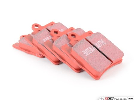 ES#520343 - DP31441C - Rear Redstuff Ceramic Performance Brake Pad Set - High performance street pad featuring Kevlar technology - EBC - Mercedes Benz