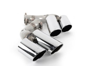 ES#3052910 - 989226 - Supersprint Exhaust Tips - Pair - 100% handcrafted in Italy. Stainless steel construction. - Supersprint - BMW