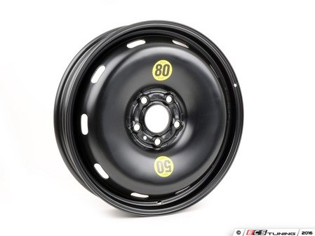 ES#3029586 - 36116851507 - Emergency Compact Steel Wheel - Spare - 17 x 3 1/2 ET:18 , Rim only for 125/70/17 tire size. - Genuine MINI - MINI