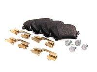 ES#11377 - 1K0698451K - Rear Brake Pad Set - Restore your stopping power - Genuine Volkswagen Audi - Audi Volkswagen