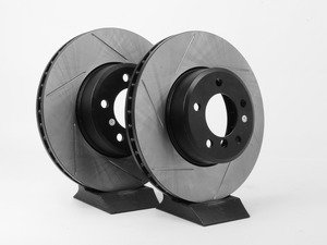 ES#3025779 - 34116753221GS - Gas-Slotted Brake Rotors - Front  - This design removes performance robbing outgas and material dust caused by braking - StopTech - BMW