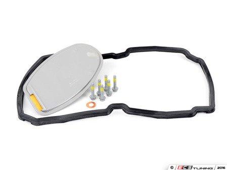 ES#2777134 - 1402770095KT1 - Automatic Transmission Filter Kit - Includes OEM transmission filter, OEM oil pan gasket, and OEM oil drain plug gasket - Genuine Mercedes Benz - Mercedes Benz