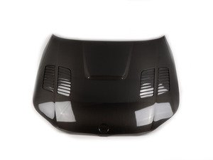 ES#3010115 - HD0407BMWE60GTR - Seibon GTR Style Carbon Fiber Hood - Add style and remove weight from the front end of your BMW - Seibon - BMW