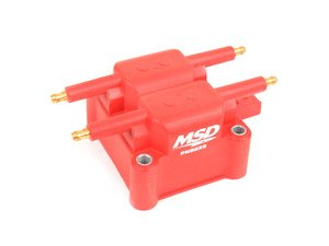 ES#3103540 - 8239 - Performance Coil Pack - Improve throttle response, mileage and power! Plus the unique red finish compliments the engine bay nicely on your prized MINI! - MSD Performance - MINI