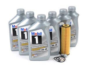 ES#2702542 - 2711800109KT7 - 2003-2005 C230 Kompressor Oil Change Kit - Everything you need to perform an engine oil service - Genuine Mercedes Benz - Mercedes Benz