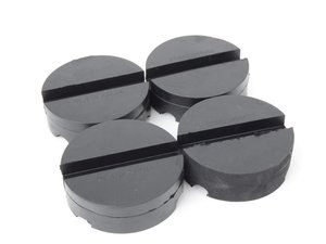ES#3129772 - 3107838KT - Schwaben Set Of 4 Pinch Weld Protectors  - Use these between your floor jack and on pinch weld. Protects pinch weld from bending when lifting car - Schwaben - Audi BMW Volkswagen Mercedes Benz MINI Porsche