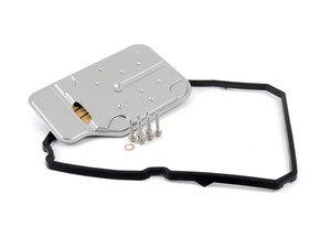 ES#2776550 - 2212770195KT4 - Transmission Filter Kit - Includes filter, pan gasket, and hardware - Assembled By ECS - Mercedes Benz