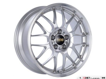 "ES#3138639 - RS913EDSPKKT - 18"" RS-GT - Set Of Four  - 18""x8.5"" ET32 5x112 - Diamond Silver - BBS - Audi Volkswagen"
